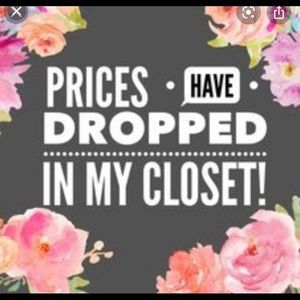 Price drop on my closet - check it out!!